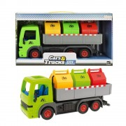 Huismerk Toi-Toys Truck with Containers - 33 cm