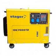 Generator monofazat diesel 4,5 kva insonorizat YDE7000TD