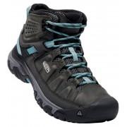 KEEN TARGHEE III MID WP W Dámská treková obuv KEN1204146001 alcatraz/blue turquoise 5,5(38,5)