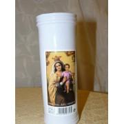 Lámpara votiva de Nuestra Señora del Carmen