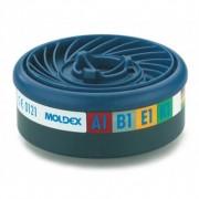 Prorisk Sachet de 2 cartouches anti-gaz a1b1e1k1 easy lock pour masque respiratoire moldex 0.000000