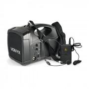 ST012 Sistema PA Sem Fios Móvel Microfone Body Check SMT USB BT MP3 Bateria 12 Vdc