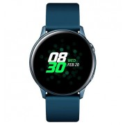 "Smartwatch Samsung Galaxy Watch Active R500, Procesor Dual-Core 1.15GHz, Super AMOLED 1.1"", 750MB RAM, 4GB Flash, Bluetooth, Wi-Fi, Tizen (Verde) + Cartela SIM Orange PrePay, 6 euro credit, 6 GB internet 4G, 2,000 minute nationale si internationale fix sa"