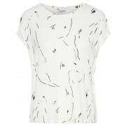 Vero Moda Tricou pentru femei Ava Plain Ss Top Ga Color Pristine Coll 2 Cro Black S