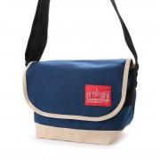マンハッタンポーテージ Manhattan Portage Suede Fabric Casual Messenger Bag (Navy) レディース メンズ
