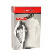 Cornette Pánský nátělník Cornette Authentic Thermo Plus 214 4XL-5XL černá 5XL