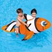 Geen Grote opblaasbare clown vis 157 cm