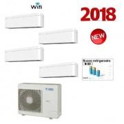 Daikin Climatizzatore Quadri 4mxm68m/n + 4 X Stylish White Ctxa15aw Wi-Fi 5+5+5+5
