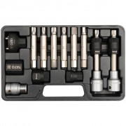 YATO Комплект за демонтаж на шайбите на алтернатора, 13 части