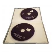 Windows 10 Pro, DVD, Romana, 32/64 bit, OEM