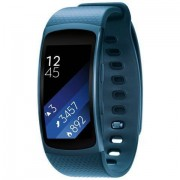 """Samsung Sm-R3600zbaitv Gear Fit 2 Smartwatch Fitness Band Display 1.5"""" Colore Bl"""