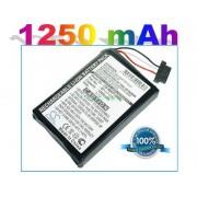 Bateria Becker Traffic Assist Z098 Z101 Z102 Z108 Z116 Z200 Z201 Z203 Z204 Z205 Z212 1250mAh 4.6Wh Li-Ion 3.7V
