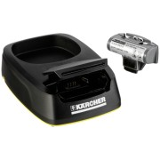Kärcher Charging Station and rech. battery pack for WV 5 Plus