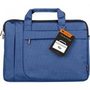"CANYON Fashion toploader Bag for 15.6"" laptop, Blue"