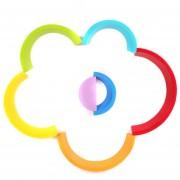 EB 7 COLORES/Conjunto De Bloques De Construcción De Madera Rainbow Bebé Juguetes Educativos De Educación Temprana