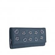 Dámská tmavě modrá peněženka 9422