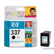 HP 337 Black Inkjet Print Cartridge (11 ml) (C9364EE)