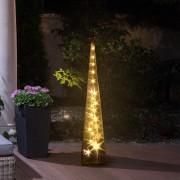 HomCom® Luz de Natal LED 16x16x90cm