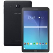 Samsung Tablet 9.6'' Samsung Galaxy Tab E Sm T561 8 Gb Quad Core 5 Mp 3g Wifi Bluetooth Android Refurbished Nero