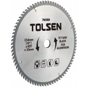 Disc vidia circular 210x30/25.4/16, Z60 aluminiu Tolsen,