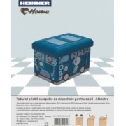TABURET PLIABIL PVC PTR COPII ALBASTRU