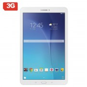 TABLET SAMSUNG GALAXY TAB E T561 - QC 1.3GHZ - 8GB - 1.5GB RAM - 9.6'/24.3CM CAPACITIVA - ANDROID - 3G - BT4.0 - DUAL CAM 5/2MP - BAT. 5000mAh -BLANCO