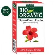 Indus Valley Bio Organic 100 Herbal Hibiscus Daily-use Powder For All Hair Types - 100g (No of units 1)