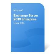 Microsoft Exchange Server 2010 Enterprise User CAL elektronički certifikat