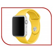 Умные часы APPLE Watch 42mm with Yellow Sport Band MMFE2RU/A