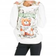 Moschino Felpa con cappuccio donna dollar teddy bear
