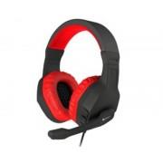 Genesis Auriculares con microfono genesis argon 200 gaming rojos mini jack 3.5mm x2