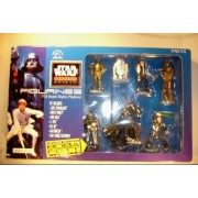 Star Wars Pvc Figurines 7 Pack With Boba Fett