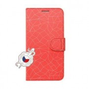 Fixed Pouzdro typu kniha FIXED FIT pro Samsung Galaxy Xcover 4/4S, motiv Red