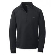 Outdoor Research Men´s Radiant LT Zip Top - 001-BLACK - Pullover S