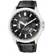 Ceas barbatesc Citizen Eco-Drive CB0010-02E Saphir 43 mm, 10 ATM