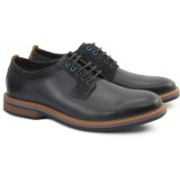 Clarks PITNEY WALK DARK BLUE LEA Lace Up For Men(Blue)