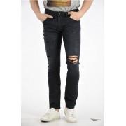 Diesel Jeans THOMMER L.32 In Denim Stretch 16cm taglia 40