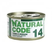 NATURAL CODE CAT 14 TONNO E VERDURE 85GR