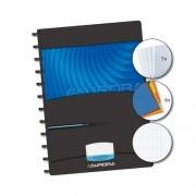 Caiet A4, 72 file - 90g/mp, coperta PP Mano, cu separatoare, AURORA Adoc - matematica