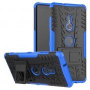 Capa Híbrida Antiderrapante para Sony Xperia XZ3 - Azul / Preto