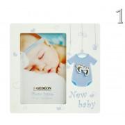 Fényképtartó New baby tappancsos 10x15cm-es képhez B1346 2féle - Fényképtartó