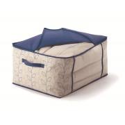 Husa depozitare textile-BLOOM-albastru