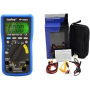 HOLDPEAK 90BS Digitális multiméter fesz. áram ellenállás kapacitás frekvencia TRMS napelemes.