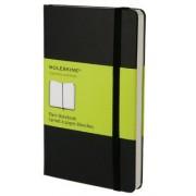Moleskine - zápisník - čistý, černý S