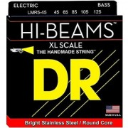 DR Strings Hi-Beam - Extra Long Scale Stainless Steel Round Core 5 String 45-125