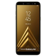"Telefon Mobil Samsung Galaxy A6 (2018), Procesor Octa-Core 1.6GHz, Super AMOLED capacitive touchscreen 5.6"", 4GB RAM, 64GB Flash, 16MP, 4G, Wi-Fi, Dual SIM, Android (Auriu)"