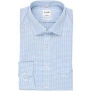 OLYMP Tendenz Modern Fit Hemd bleu, Kariert
