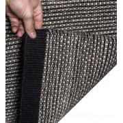 Mexico 160x230cm svart/grå