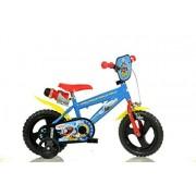 """Dino Bikes Thomas il trenino Infantil Unisex Ciudad 12"""" Metal Azul, Rojo Bicicleta (Plegado, Ciudad, 30.5 cm (12""""), Metal, Azul, Rojo, 30.5 cm (12""""))"""
