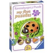 Primul Meu Puzzle Viata Animalutelor, 6X2 Piese Ravensburger